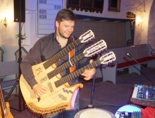 """""""ALEGRIA"""" – Konzert mit dem Multiinstrumentalisten, Gitarristen und Entertainer Vicente Patiz 27.08.2017"""