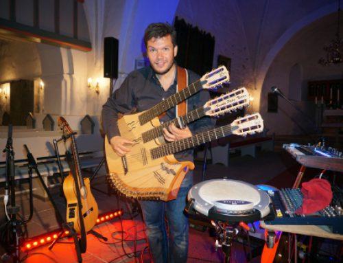 """""""ALEGRIA"""" – Konzert mit dem Multiinstrumentalisten, Gitarristen und Entertainer Vicente Patiz 14.07.2019"""