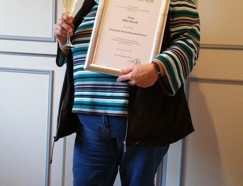 20 Jahre und kein bisschen müde…. 20jähriges Dienstjubiläum von Silke Ketels