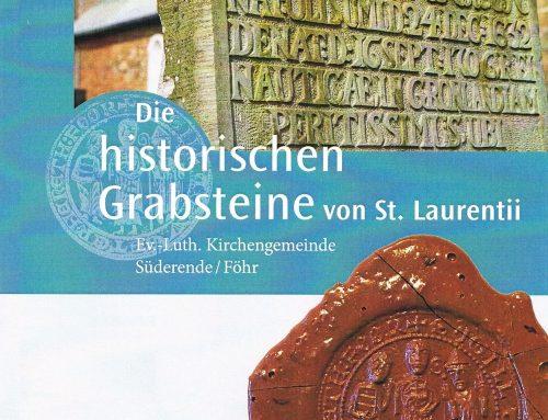 Die historischen Grabsteine von St. Laurentii – Buchvorstellung am 02.12.2018
